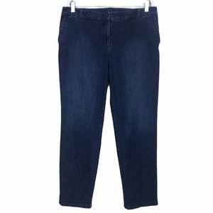 Talbot Signature High Rise Straight Leg Jeans